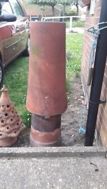 1960s Chimney pot