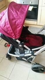 Pram mothercare 3in1