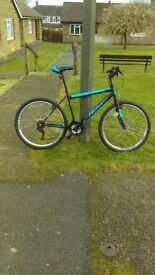 Man,s bike for sale hardley used due to back problem,s £80