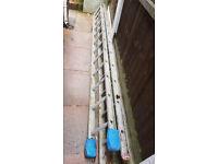 Extension Ladder - Aluminium (2 x 11 rung) - £20 Anfield L4