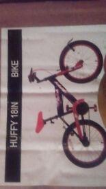 Child's 18' bike in box