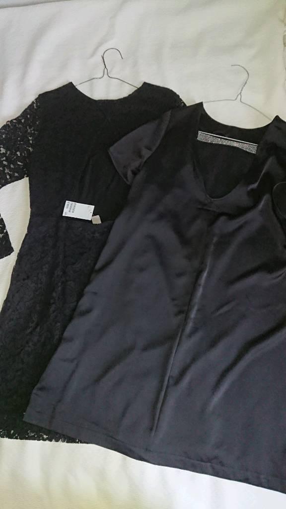 H&M black&glam dresses