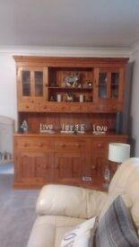 Beautiful Handcrafted Pine Dresser