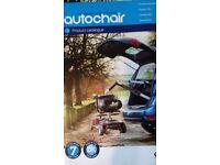 Vauxhall MERIVA wheelchair hoist