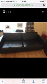 4 seater sofa plus arm chair Good condition