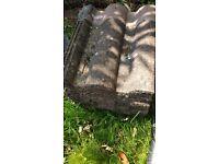 X24 Redland regent M tudor brown roof tile