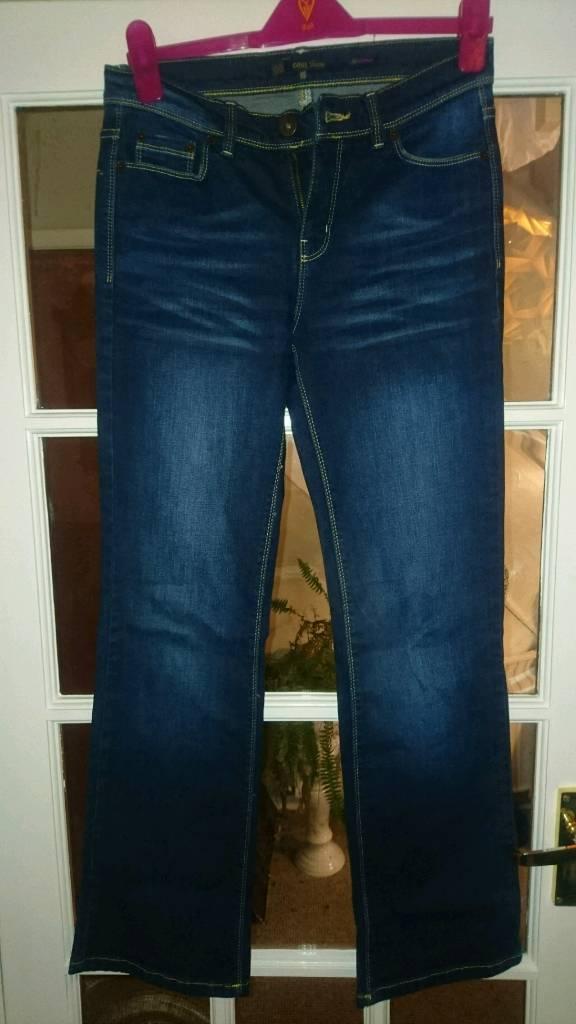Oasis 'My Scarlet' Jeans (10R)