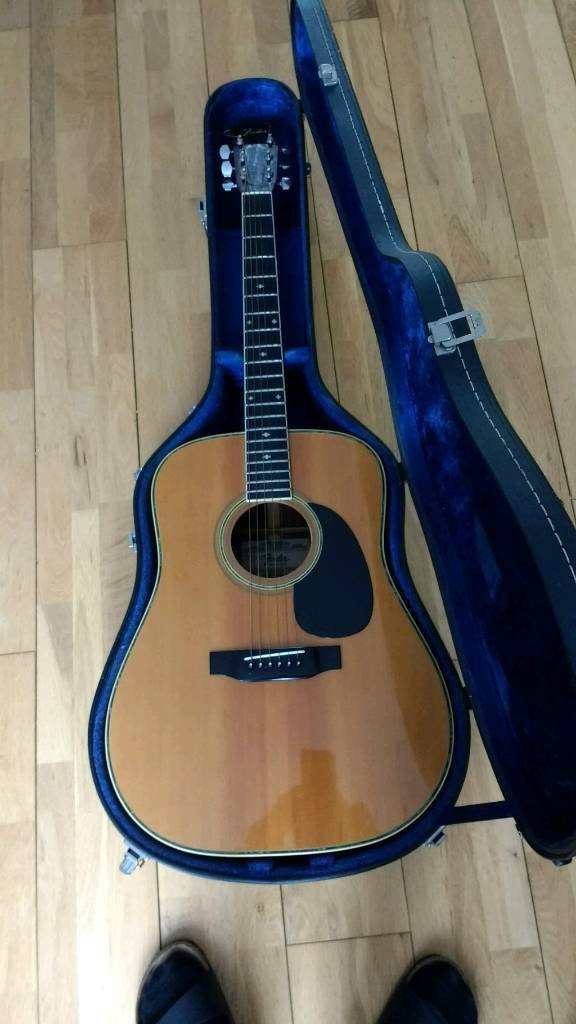 Vintage Fender F 65 Acoustic Guitar