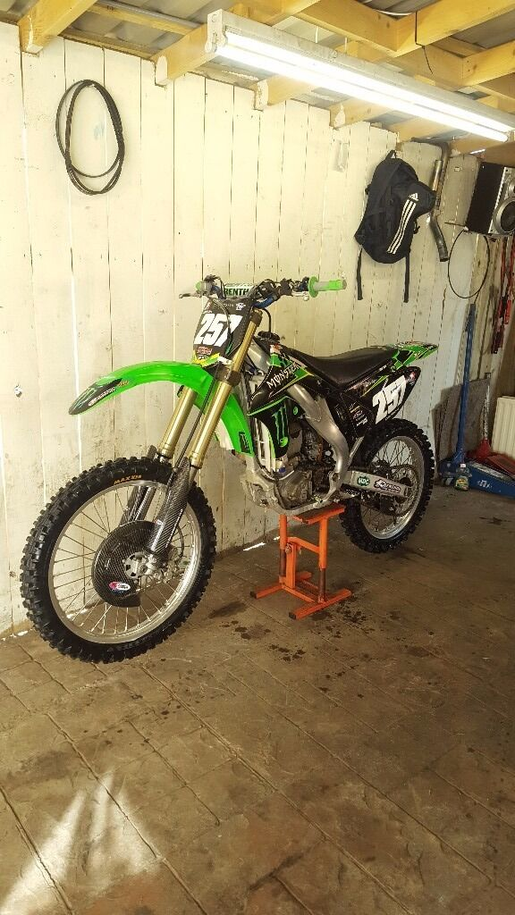 kxf 250 breaking for spares(kx,cr,yz,rm,yzf,crf,rmz)