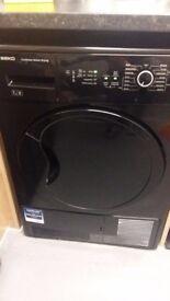 Washing machine and condenser tumble dryer