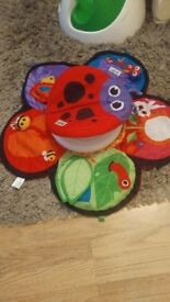 Tomy Lamaze Spin and Explore Garden Gym Tummy time