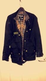 Wax cotton Barbour coat
