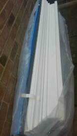 Brand new fibreglass door or window canopy