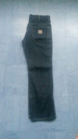 CARHARTT JEANS - CLASSIC STAFF PANT- SIZE 30X32 - £10.00