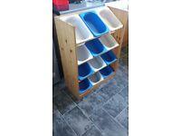 Toy storage ikea unit