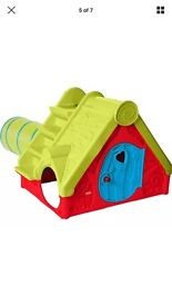 Chad Valley Funtivity Playhouse Slide Seesaw