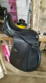 "16"" changeable gullet, calidoneon saddle"