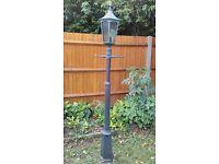 Noral post lantern