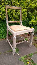 Vintage dining chair project
