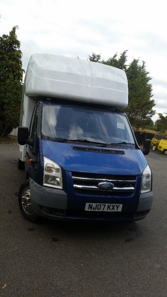 FORD TRANSIT LWB LUTON WITH TAIL LIFT