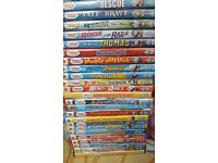 24 Thomas and Friends DVDs