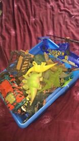 Box of dinosaurs