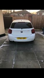 Bmw 1 series 3 door 13 plate. Low mileage 12 months MOT and tax