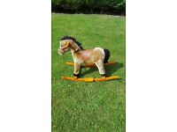 Childs rocking horse ages 1 to 4.