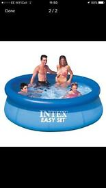Intex 8ft swimming pool