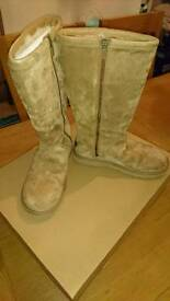 Tall Tan ugg boots size 6.5