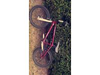 Mongoose Menace BMX bike