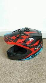 Fox V1 motorcross helmet & 100% Goggles
