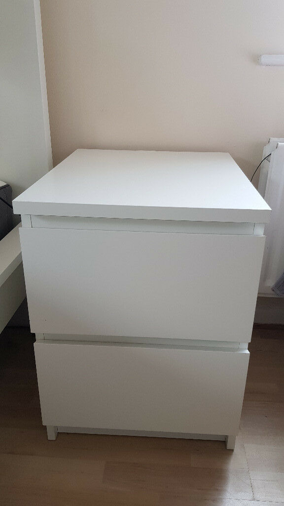 2 bedside tables ikea malm in letchworth garden city 2 bedside tables ikea malm watchthetrailerfo