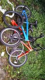 BMX bikes 2x