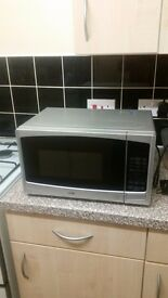 Logik microwave for sale only used a few times and in perfect working order.