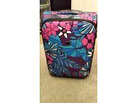 Tripp floral print cabin case