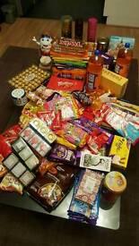 Sweets massive 31kg bundle RRP: £300++ TOBLERONE FERRERO LINDT KINDER TWIX BLACK TEA