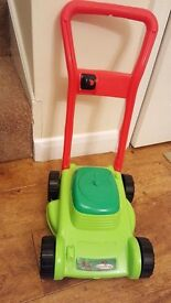 Children Toy Lawn Mower - like new condition ** Perfect Christmas Present **