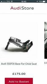 Audi isofix base