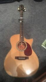 Crafter TC035/N electro acoustic guitar