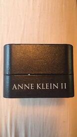 Anne Klein Silver Bracelet Watch Brand New In Box