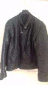 J & S Leather Motorcycle Jacket