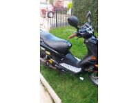 100cc moped in good runnig order mot till November and good condition 400 pound ono