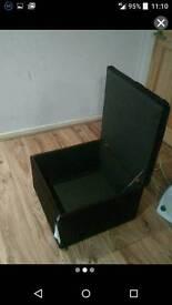 Storage footstool