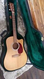 Martin d1 USA electro acoustic guitar with hard case