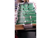 TABLE FOOTBALL, AS NEW, WOODEN, VERY STURDY
