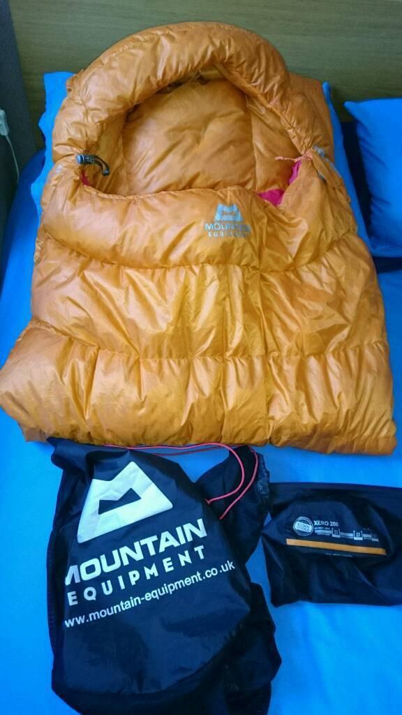 detailed look 2d6d4 dec32 Mountain Equipment XERO 200 Lightweight Down Sleeping Bag Rab MSR Hardwear  Alpkit | in Glasgow City Centre, Glasgow | Gumtree