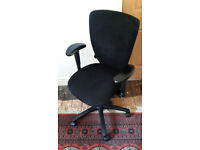 Fully adjustable, ergonomic office chair