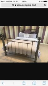 Beautiful double bed - Dreams Aurora style