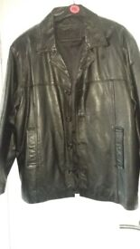 Leather Jacket XL size (46/50)